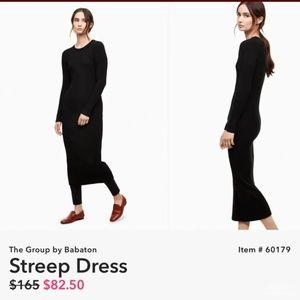 Aritia Streep Dress The Group by Babaton Black